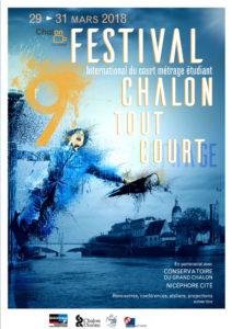 La nouvelle affiche du festival international de courts métrages CHalon tout court